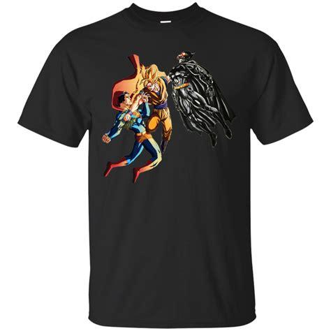 Batman Vs Superman Gildan Tshirt goku vs superman and batman shirt hoodie