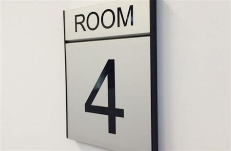 room number wall sign gallery south west school signs