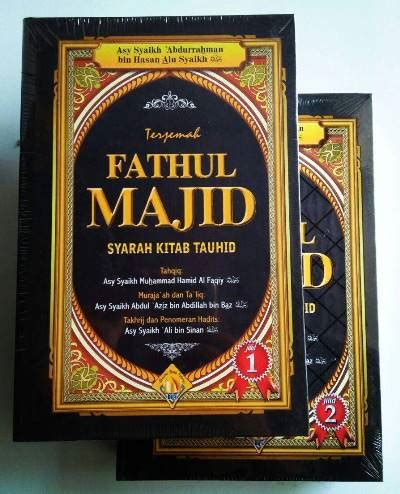 Buku Fathul Majid wisata buku islam toko buku islam terpercaya terlengkap