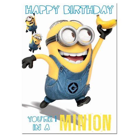 Ocado Gift Card - despicable me minions birthday card from ocado