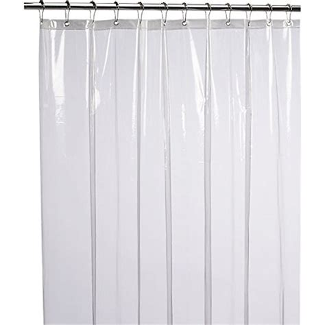 non vinyl shower curtain 10 liba mildew resistant anti bacterial peva 8g shower