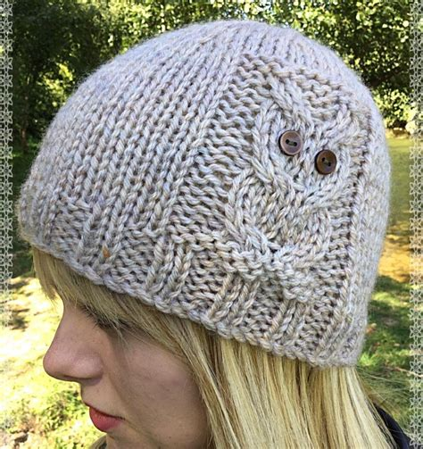 knitted owl hat owl beanie 4 sizes knitting pattern by the lonely sea