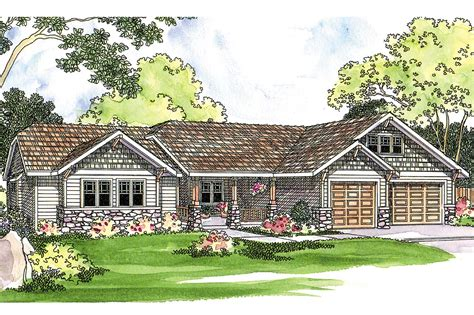 house plabs craftsman house plan pinedale 30 228 front elevation