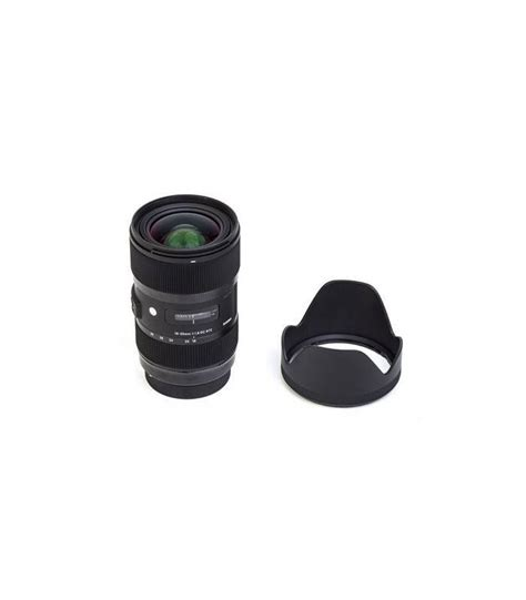 Sigma Lens 18 35mm F1 8 Dc Hsm sigma 18 35mm f1 8 dc hsm para nikon