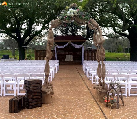 Outdoor Wedding Venues by The Beautiful Wedding Venue At Quail Valley In Houston Tx