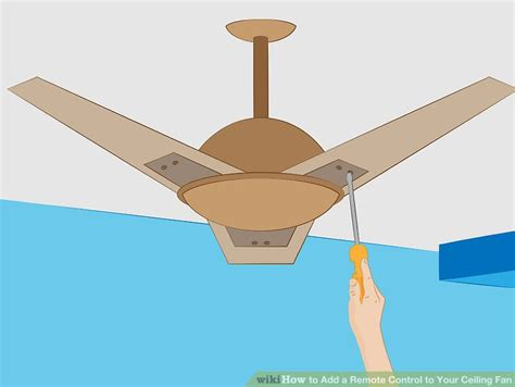 add remote to ceiling fan how to add a remote to your ceiling fan 10 steps
