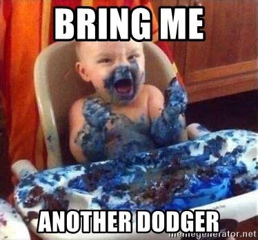 Baby Smurf Meme - bring me another dodger smurf baby meme generator