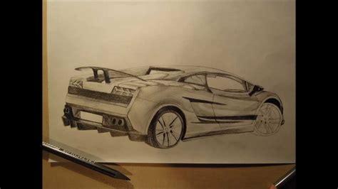 Lamborghini Zeichnen by How To Draw An Amazing Lamborghini Gallardo