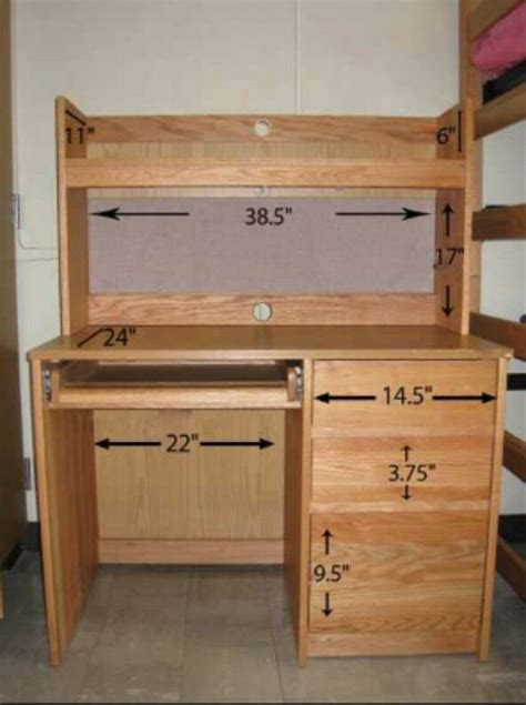 Dorm Desk Dimensions Dorm Room Pinterest Dorm Room Desk For College Student