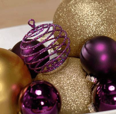 purple and gold christmas 79 ideas