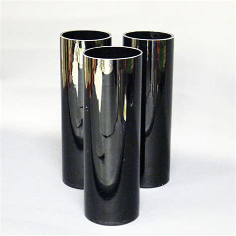 Black Cylinder Vases by Coloured Glass Vases Archives Woolven Flowers