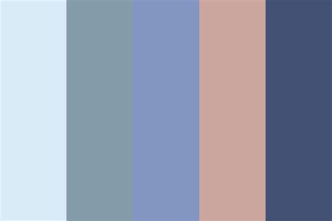 muted color muted blue color palette