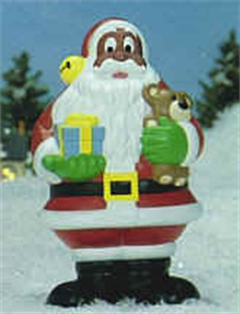 holiday christmas lawn decorations santa claus african