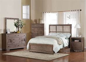 Distressed Oak Bedroom Furniture Distressed Wood Bedroom Furnitureequinox Pc Bedroom Set In Distressed Ash Acme Furniture Mbwkd