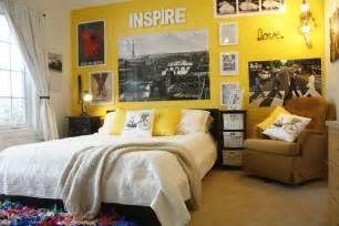 brigt yellow paint colors for a teenage girls bedroom with