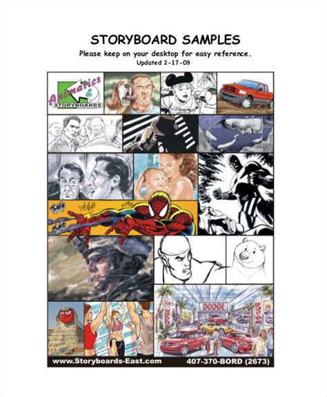 magazine storyboard template 5 magazine storyboard sles templates sle templates