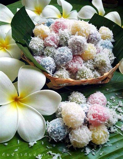 thai dessert recipes images  pinterest asian