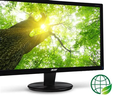 Monitor Acer 15 6 Inch P166hql Led Size 15 Inch acer led monitor 15 6 inch p166hql black