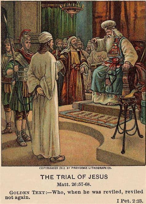 the trial of god file trial of jesus matthew 26 57 68 1 peter 2 23 jpg the work of god s children