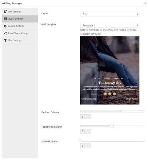 layout manager wordpress plugin wp blog manager plugin to manage design wordpress blog