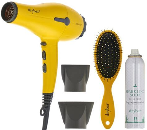 Buttercup Hair Dryer drybar buttercup hair dryer with shine spray brush