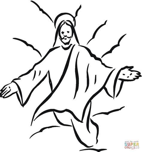 imagenes de jesucristo resucitado para dibujar disegno di ges 249 da colorare disegni da colorare e