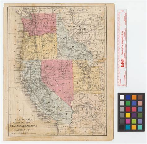 map of oregon idaho and utah california oregon idaho utah nevada arizona and