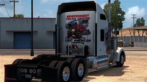 trucker to trucker kenworth kenworth w900 independent trucker skin truck