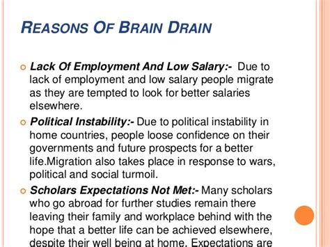 Brain Drain Essay Conclusion by Essay On Brain Drain Problem Of Brain Drain In Popular Resume Editing Services For School How To