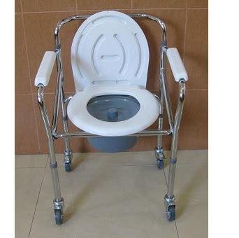 Kursi Roda Buat Orang Sakit jual kursi toilet untuk bab buang air besar commode chair