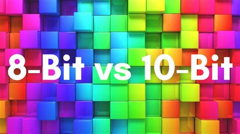 color depth color depth 10 bit vs 8 bit in 5 minutes
