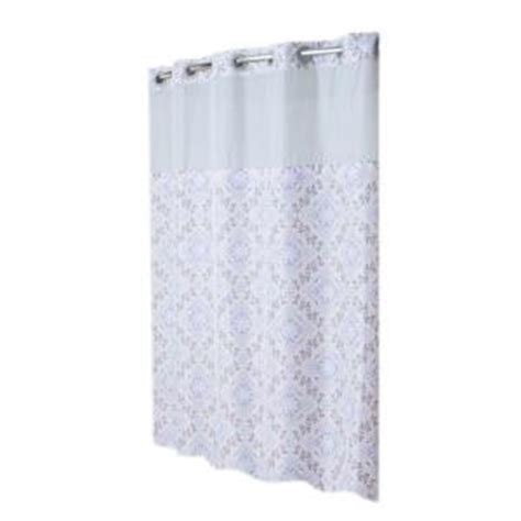 hookless mystery shower curtain hookless shower curtain mystery with peva liner in purple