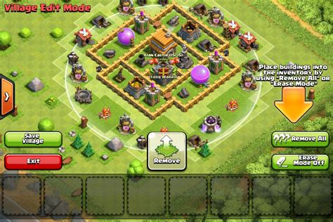 layout kuat th 5 coc rate my base setup th5 for clan wars