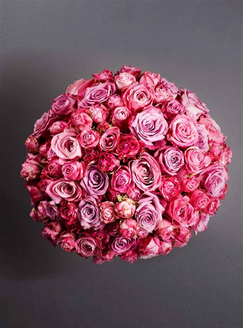Luxury Pink luxury pink knot larry walshe floral design