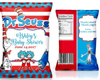 templates for bag of chips invitations vintage dr seuss cat in the hat open book invitation