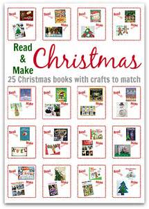 read make christmas 25 christmas books with crafts to