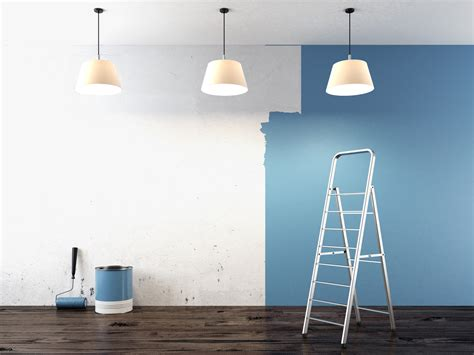 blue interior paint practical tips to ensure color consistency on big interior
