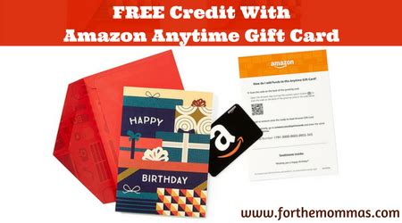 Free 2 Amazon Gift Card - free 2 credit with 10 or more amazon anytime gift card ftm