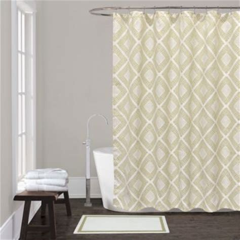 sage shower curtain buy sage green shower curtain from bed bath beyond