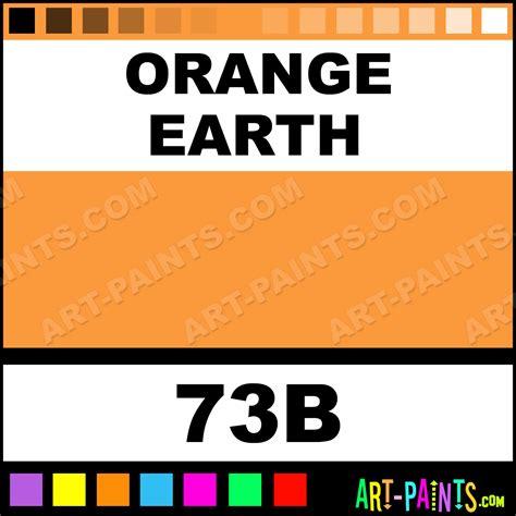 orange earth artist pastel paints 73b orange earth paint orange earth color derwent artist