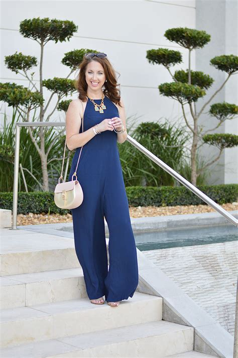 Navy Fashion navy jumpsuit of fashion