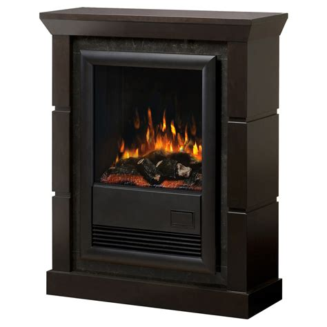 Lowes Electric Wall Fireplace by Shop Electralog 29 In W 5 120 Btu Espresso Wood And Metal
