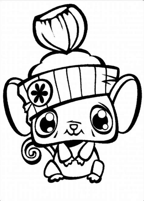 Littlest Pet Shop Coloring Pages Coloring Pages To Print Littlest Pet Shop Color Pages