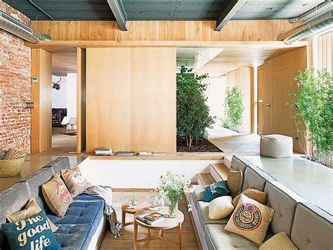 industrial loft decor interior design of industrial loft located in barcelona