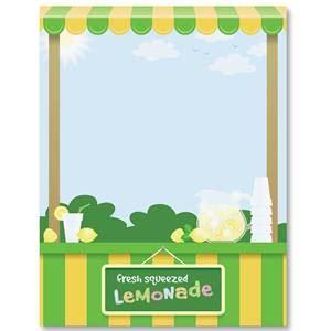 lemonade stand business plan template lemonade stand border papers paperdirect s