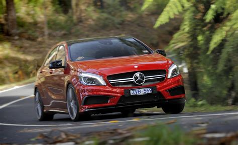 mercedes a45 amg review caradvice