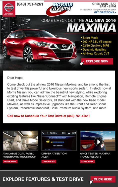 car dealer email templates gallery templates design ideas