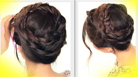 pretty styles for mannequin summer hairstyles cute crown braid tutorial updo