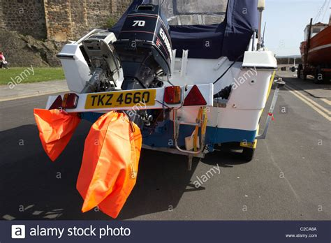 boat prop cover outboard engines trailer light board and high visibility
