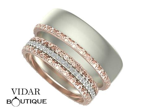 Wedding Bands Unique Matching by Unique Matching Wedding Bands His And Hers Www Pixshark